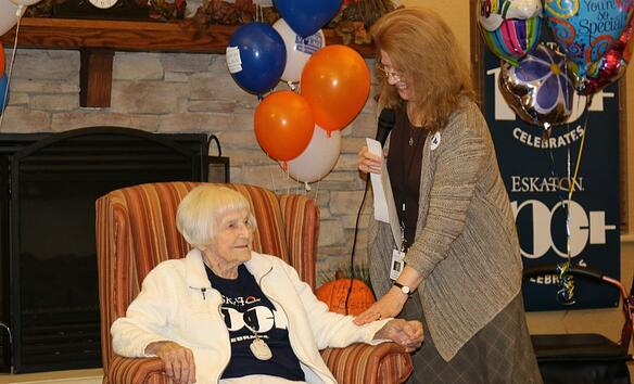 Eskaton Village Placerville - Maybelle's 103rd birthday