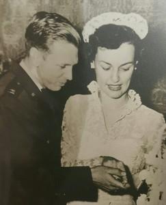 LaVerne Hayden in 1951