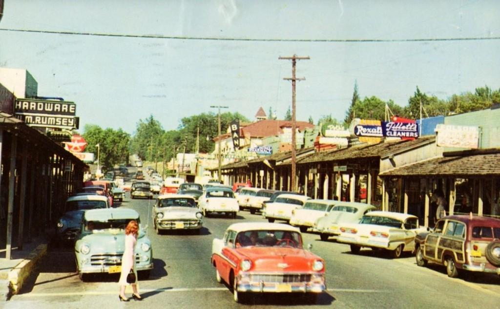 Folsom, California, 1950s