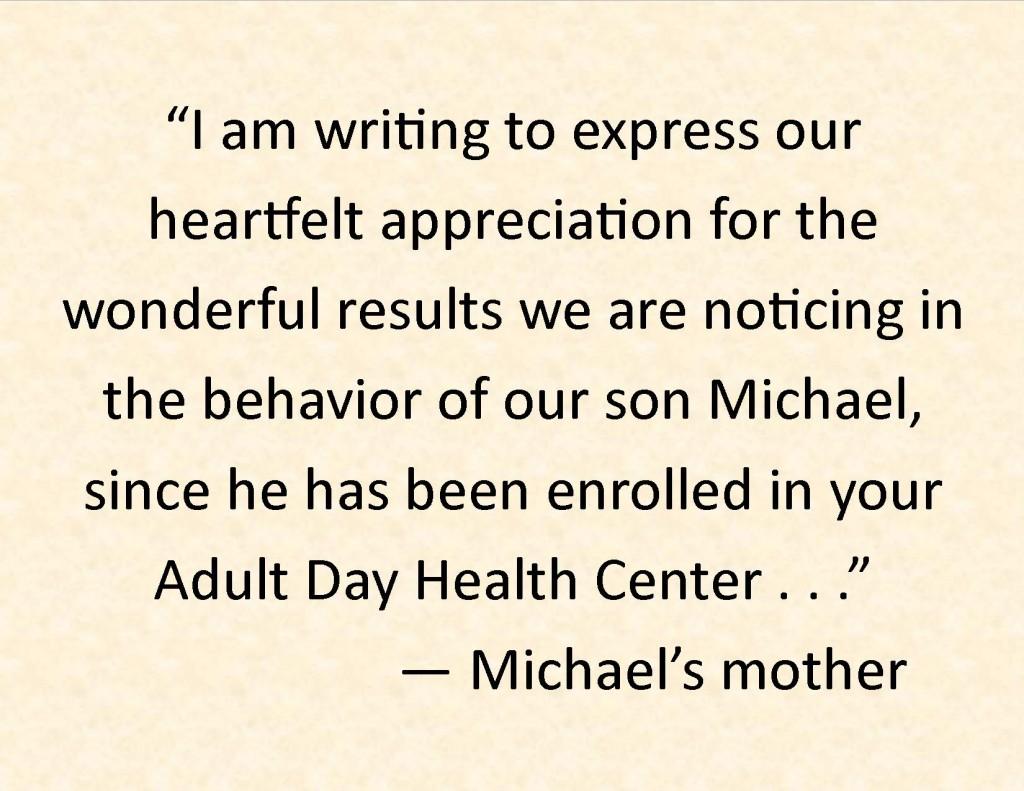 Michael quote slide