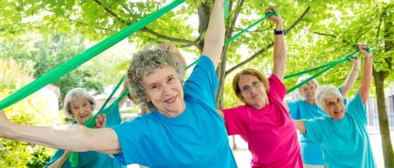 women excercising for heart health