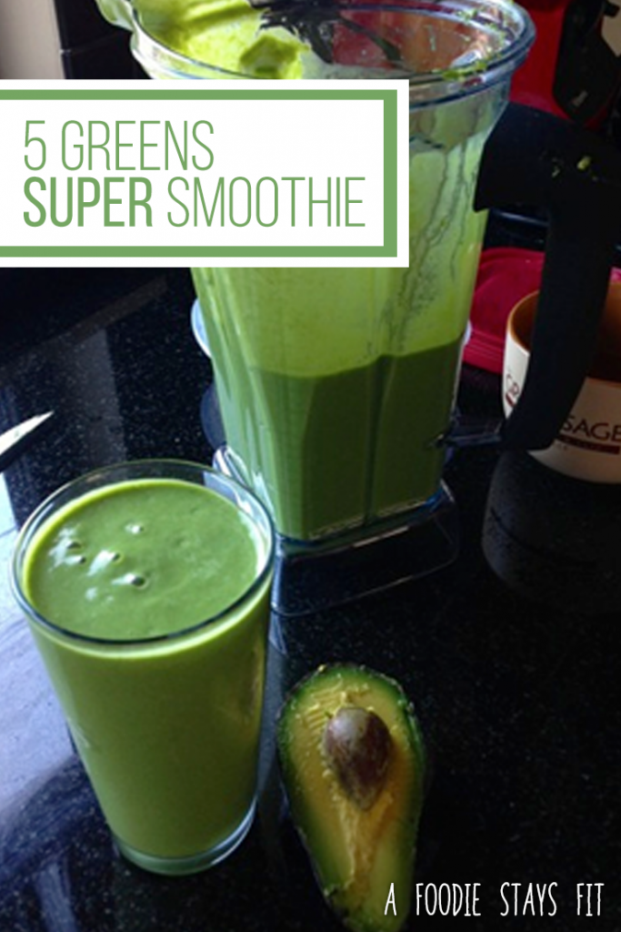 Five Greens Super Smoothie