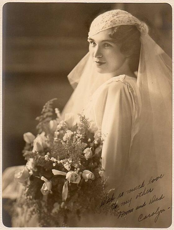 Carolyn Lindgren 1933