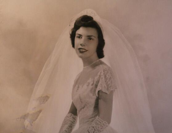 1950 Wedding Photo