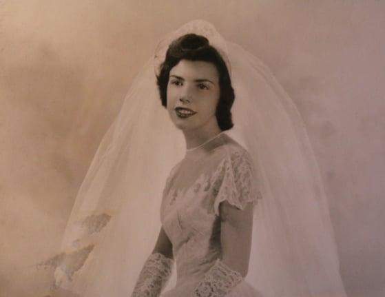 1950 Wedding Photo