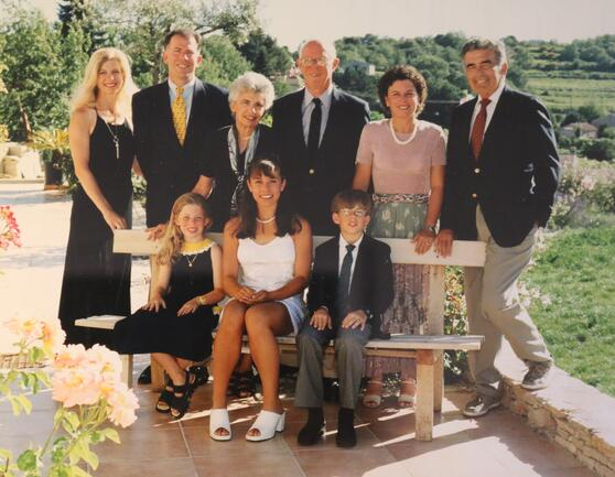Daves Family in France