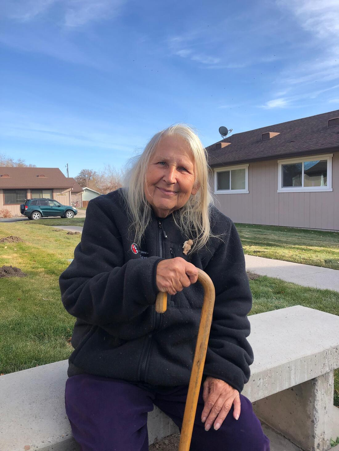 Homeless woman finds home in Susanville