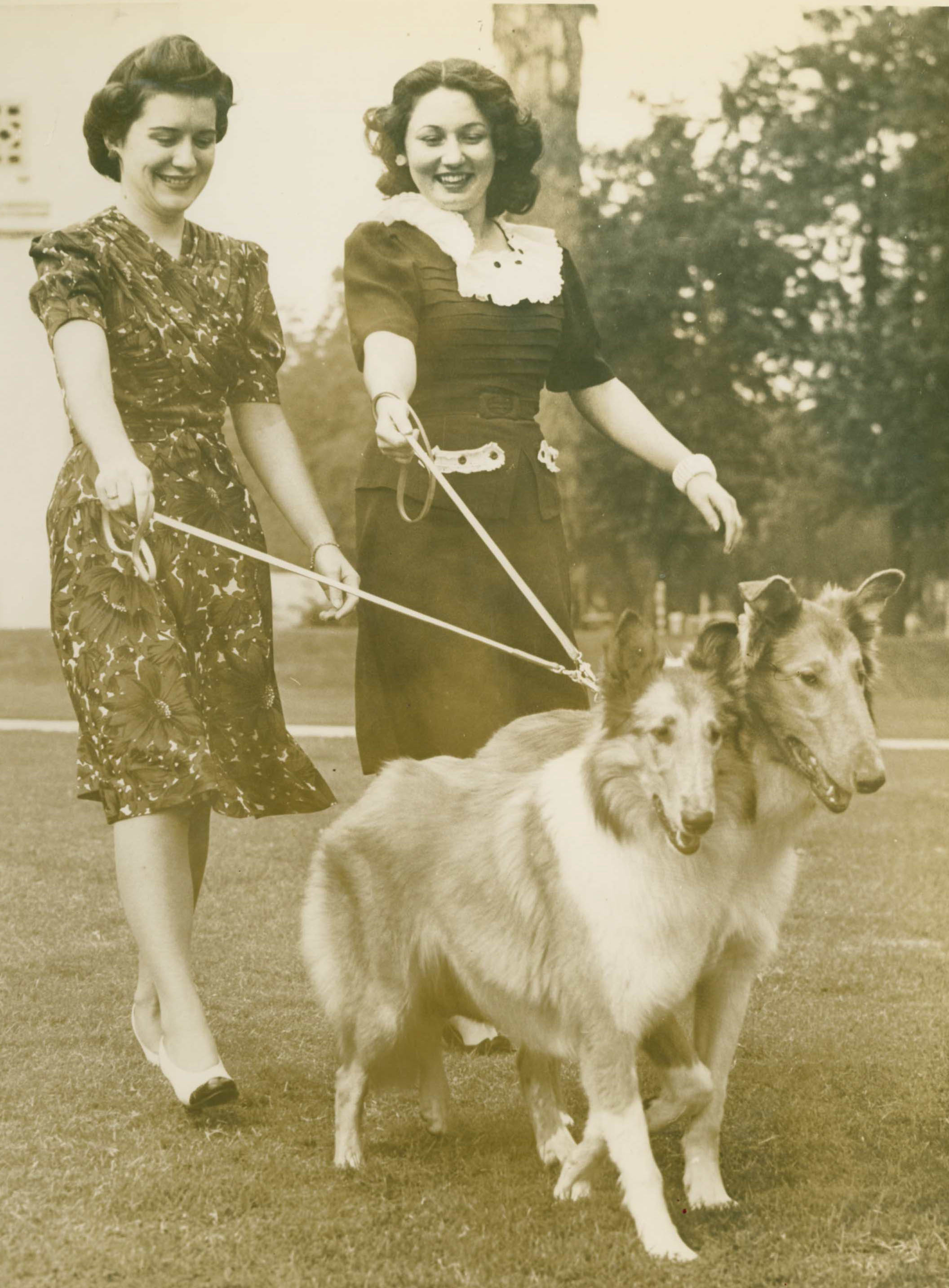 Marjorie Young at Dog Show.jpg