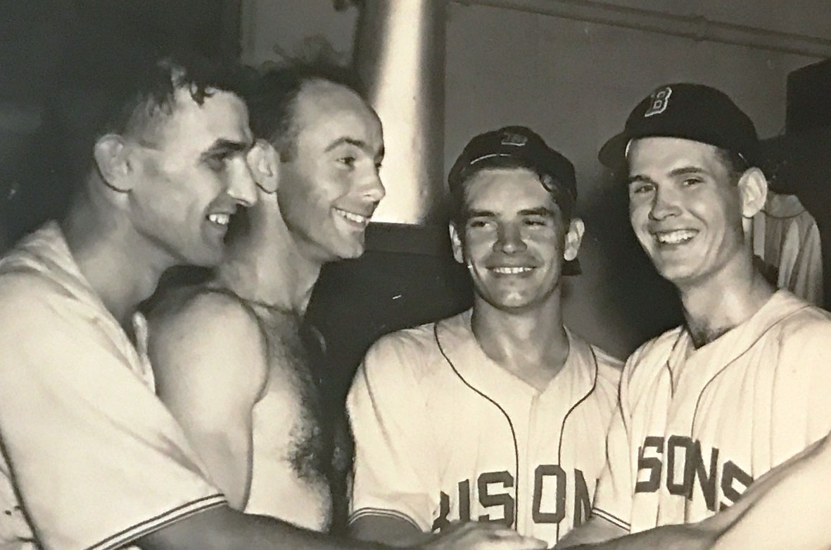 Tom Simpson NY Buffalo Bisons right