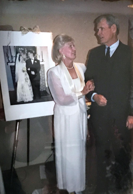 Wedding couple Tom and Gloria