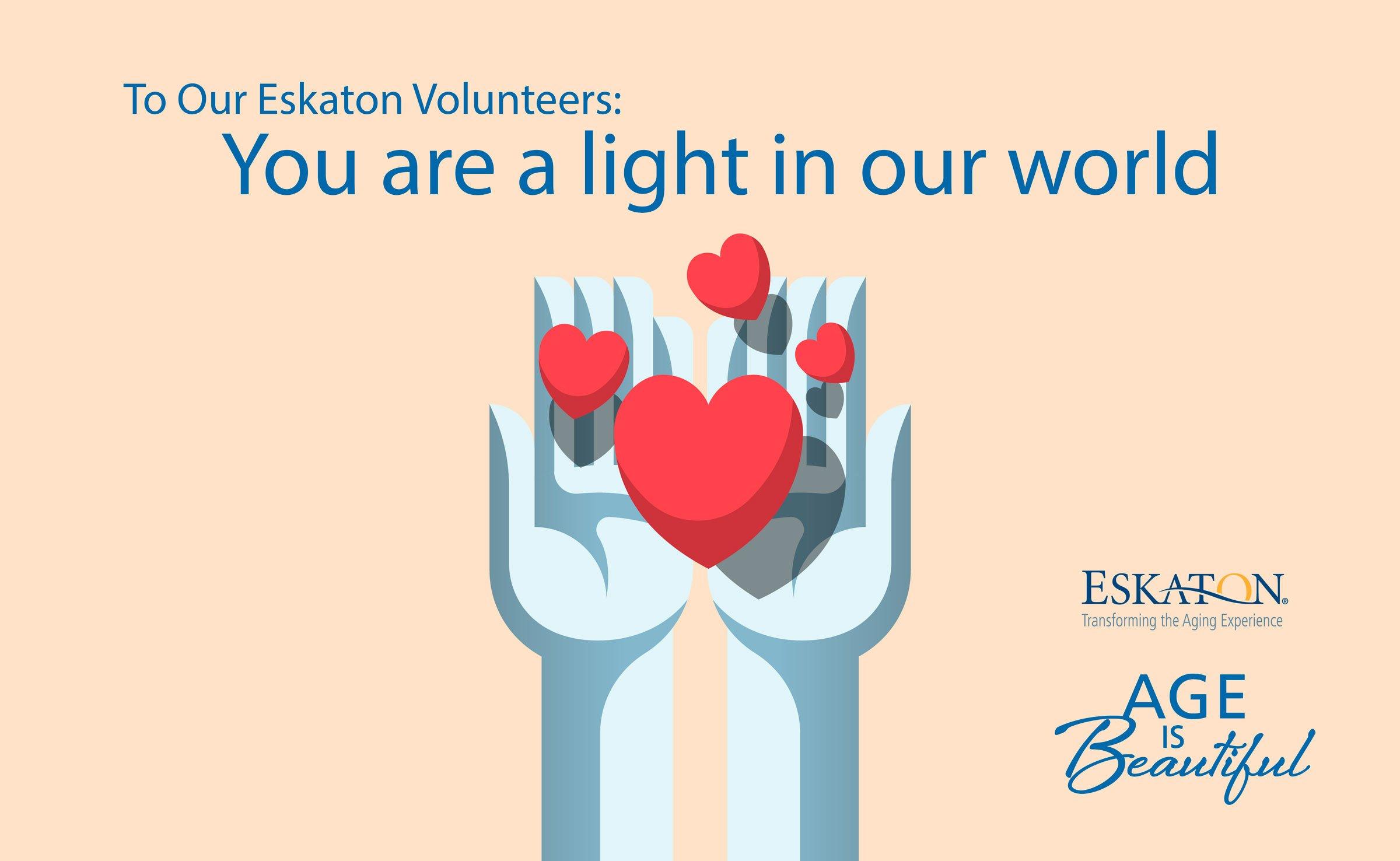National Volunteer Week at Eskaton